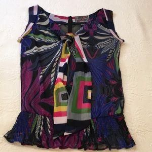 Desigual Tops - Desigual sleeveless blouse size large
